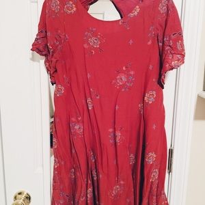 Urban Outfitters Shift Dress with Open Back